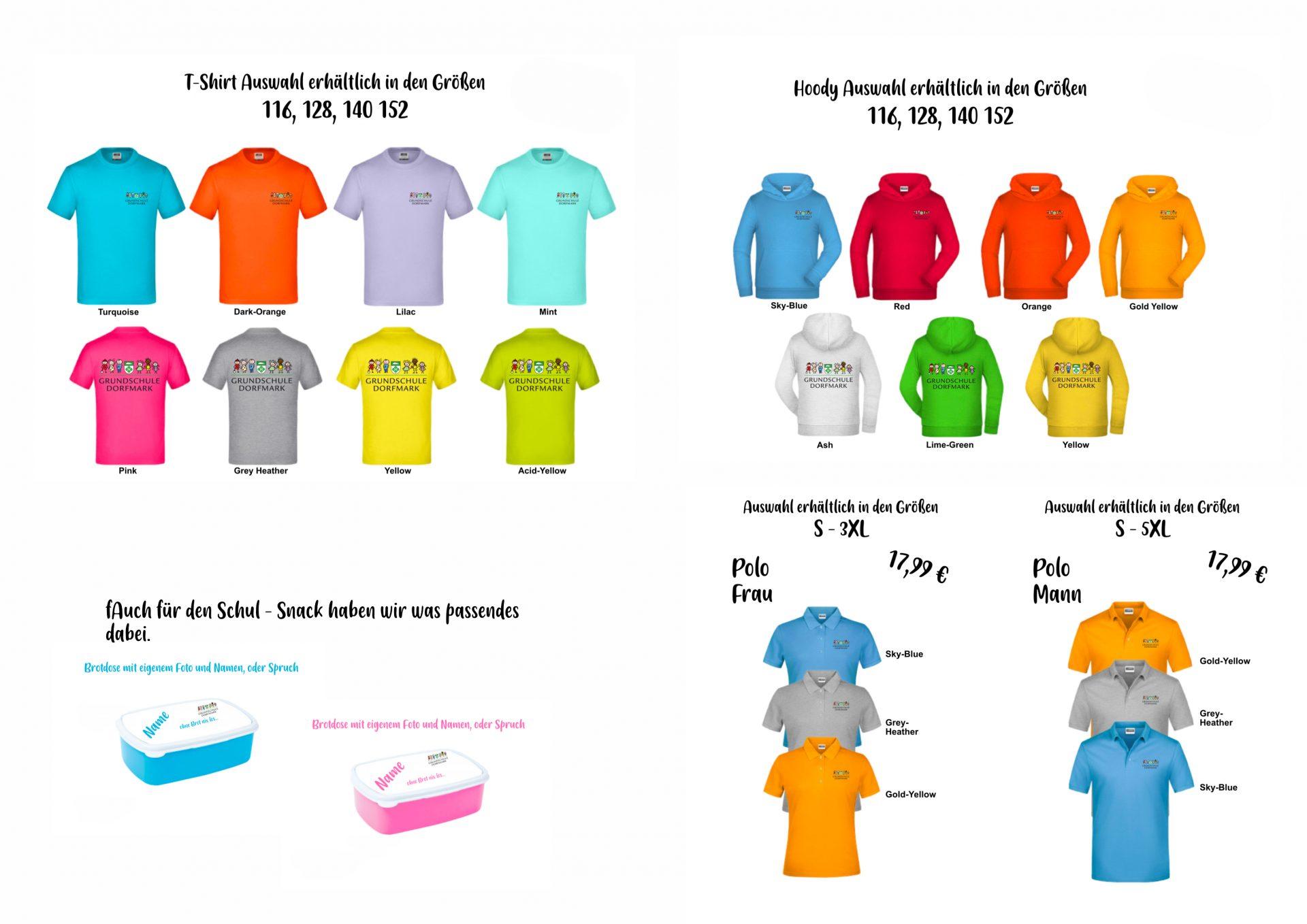 T-Shirts und noch mehr Grundschule Dorfmark